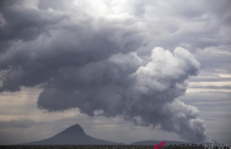 Gunung Anak Krakatau Alami Satu Kali Kegempaan Vulkanik Dalam