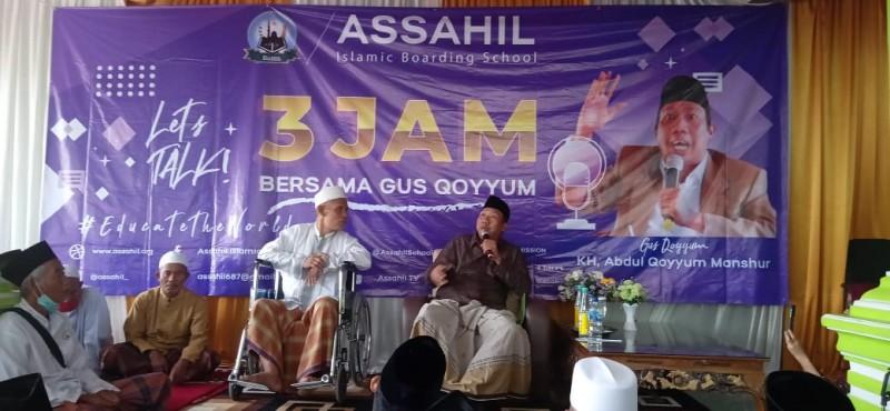 Gus Qoyyum, Cucu Pendiri NU Kunjungi Pesantren Assahil Lamtim