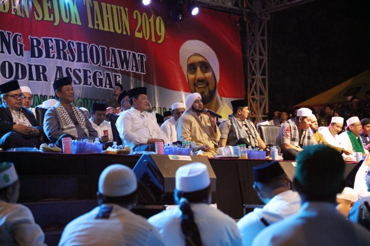 Habib Syekh Berdoa Agar Lampung Selalu Aman