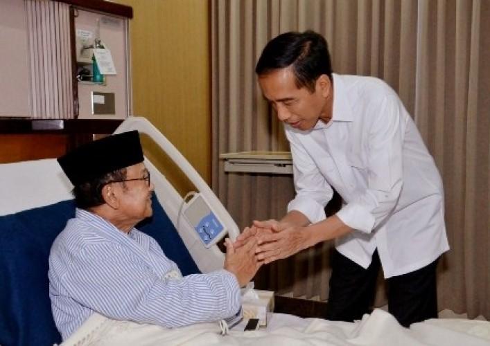 Habibie di Mata Jokowi