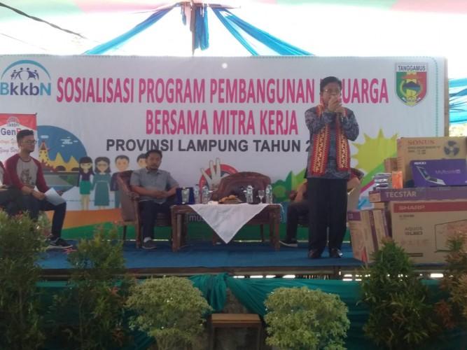 Hadapi Bonus Demografi 2035, BKKBN Imbau Anak-anak dan Remaja di Tanggamus Persiapkan Diri Jadi Generasi Berkualitas