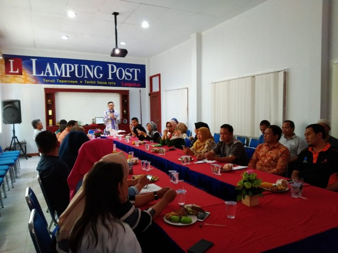 Hadapi Era Digital, Lampung Post Gelar Self Change Management