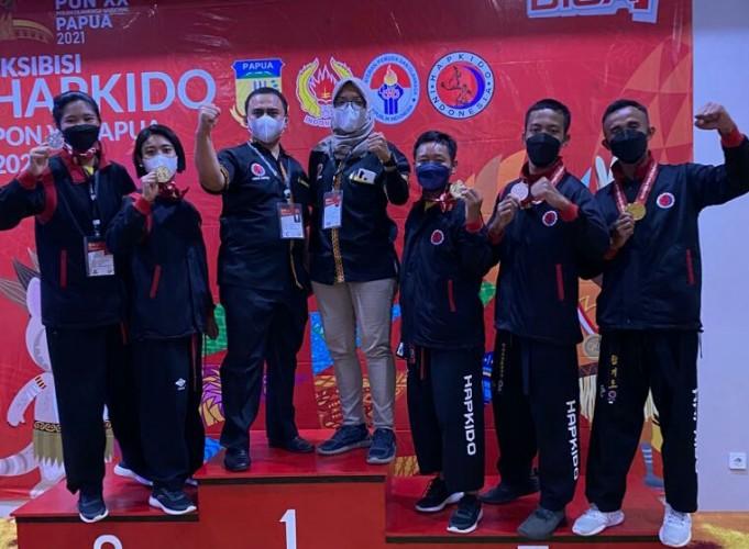 Hapkido Lampung Juara Umum Ekshibisi PON XX Papua