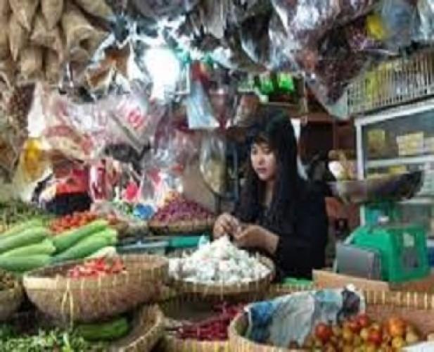 Harga Bahan Pokok di Sejumlah Pasar Bandar Lampung Stabil