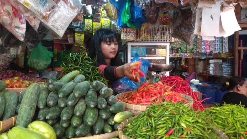 Harga Bawang dan Cabai di Bandar Lampung Melonjak