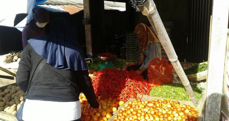 Harga Bawang Merah di Lampura Bertahan di Rp40 Ribu per Kilo