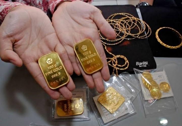 Harga Beli Emas Antam Turun ke Rp865 Ribu
