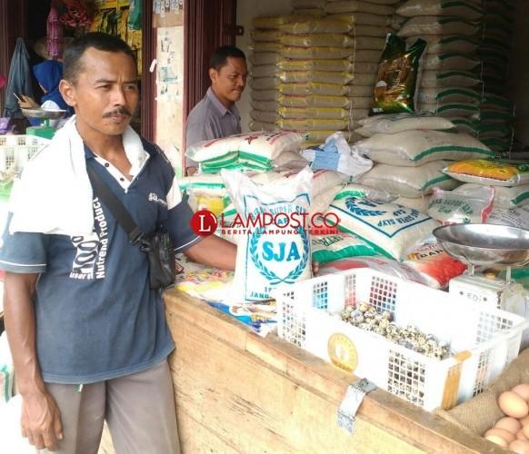 Harga Beras, Telur dan Daging di Kotabumi Stabil