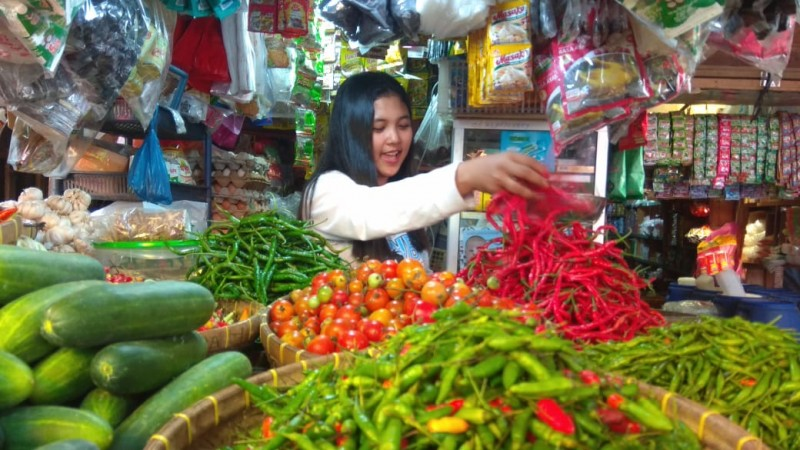 Harga Cabai di Bandar LampungMasih Rp85 ribu Per Kg