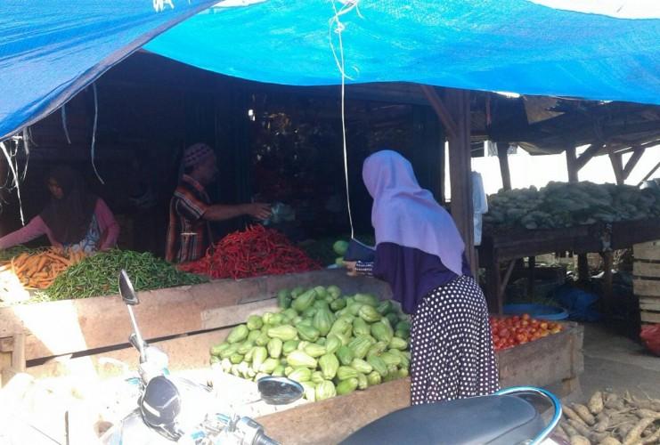 Harga Cabai Merah di Lampung Utara Melejit