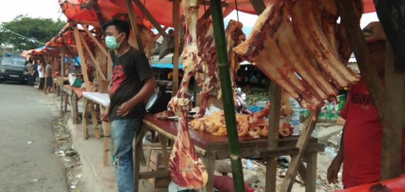 Harga Daging di Kalianda Stabil Jepang Lebaran
