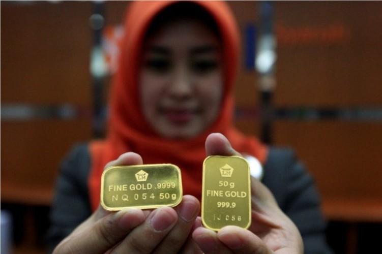 Harga Emas Antam pada Level Rp964 ribu/Gram
