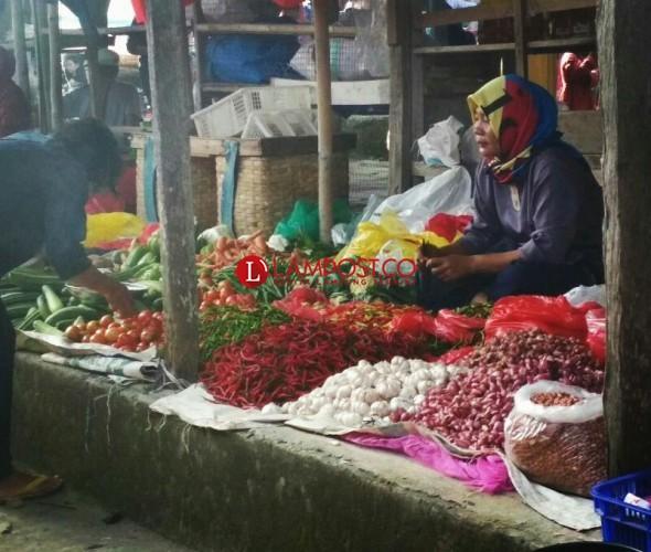 Harga Kebutuhan Pangan di Lampung Selatan Kembali Melambung