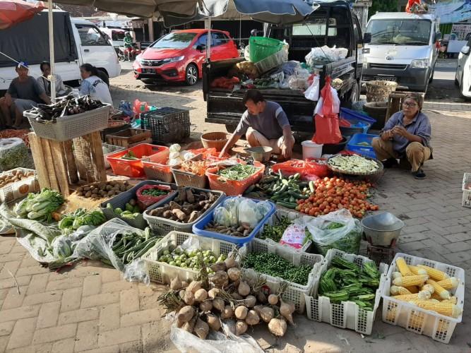 Harga Komoditas di Pasar Tugu Naik