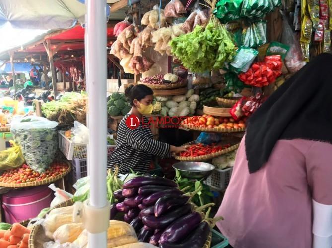 Harga Sejumlah Komoditas Sayur di Bandar Lampung Naik