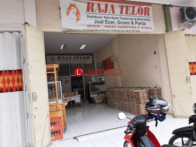 Harga Telur di Bandar Lampung Merangkak Naik