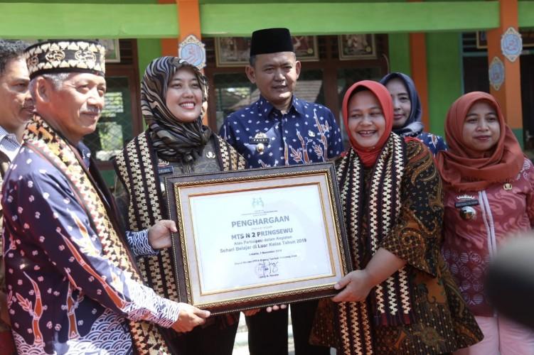 Hari Belajar Luar Kelas di Lampung Dipusatkan di MTsN 2 Pringsewu
