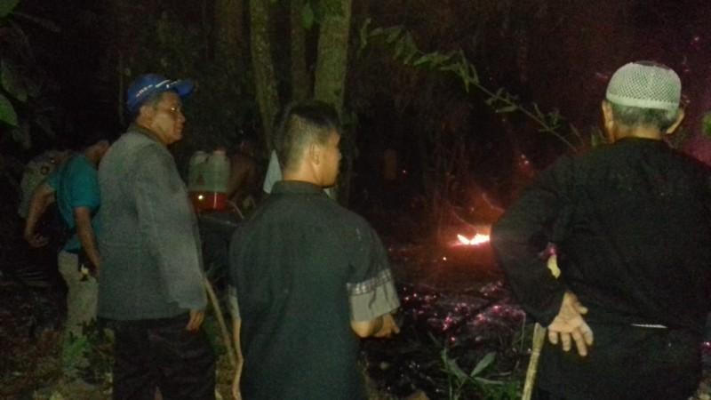 Hari Ini, Tiga Titik Lahan Terbakar di Lamsel
