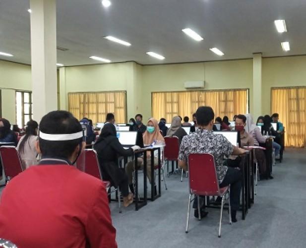 Hari Kedua Pelaksanaan UTBK SBMPTN 78 Peserta Tidak Ikut Tes