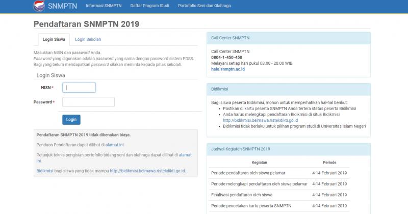 Hari Ketiga SNMPTN,450 Orang Daftar Universitas Lampung