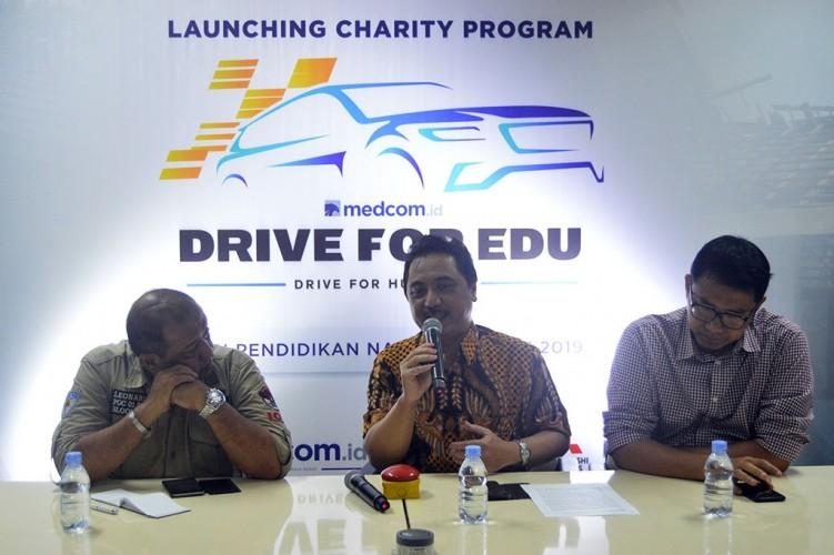 Hari Pendidikan Nasional, Medcom.id Luncurkan Program Drive for Edu