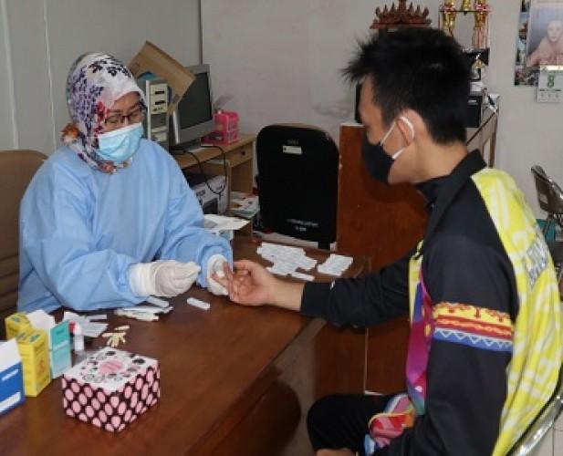 Hasil <i>Rapid Test</i> Atlet PON Lampung Nonreaktif