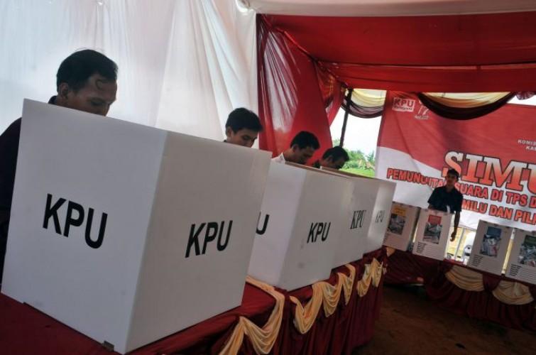 Hasil Pleno, Joko Widodo-Ma'ruf Amin Ungguldi 8 Kecamatan di Way Kanan