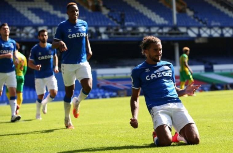Hattrick Calvert-Lewin Bawa Everton Atasi West Brom