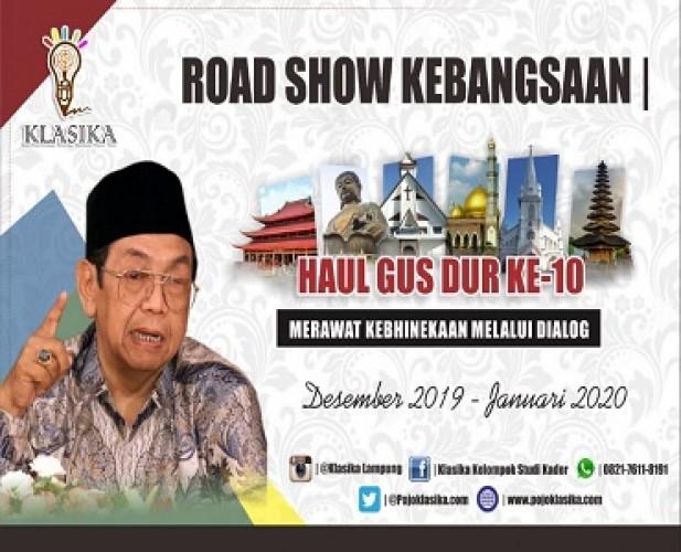 Haul Gus Dur ke-10, Klasika Gelar Road Show Kebangsaan