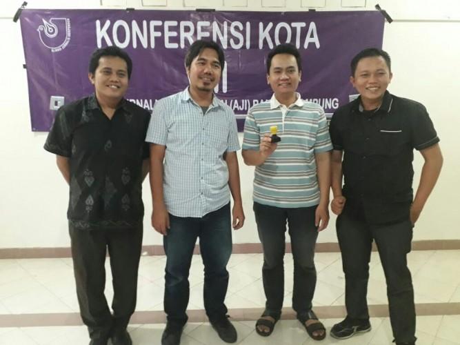 Hendry-Dian Terpilih Pimpin AJI Bandar Lampung