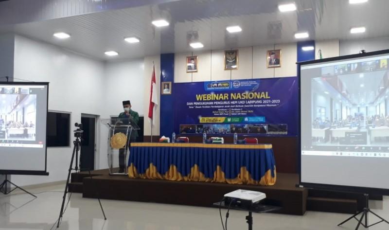 HEPI Pusat Kukuhkan Unit Koordinasi Daerah Lampung