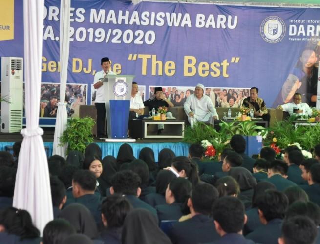 Herman HN Ajak Mahasiswa Tangkal Berita Hoaks