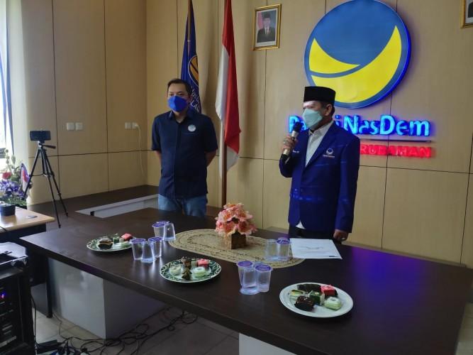 Herman HN Fokus Buka Bantuan Hukum di NasDem