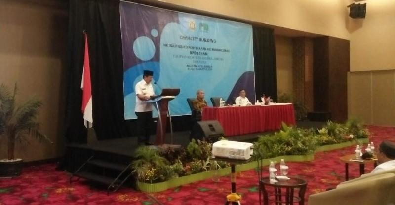 Herman HN Ingatkan PDAM Way Rilau Soal Pelayanan Terhadap Konsumen