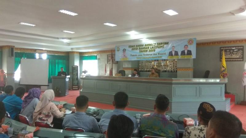 Herman HN Minta Karang Taruna Bersinergi dengan Program Pembangunan