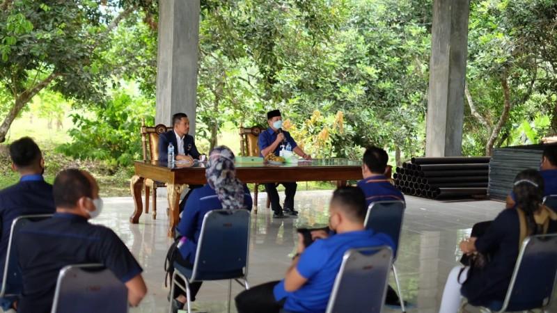 Herman HN Rapatkan Barisan Fraksi dan Ketua DPD NasDem se-Lampung