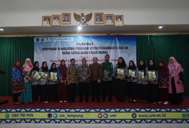 Himpunan Mahasiswa Program Studi Perbankan Syariah UML Dilantik