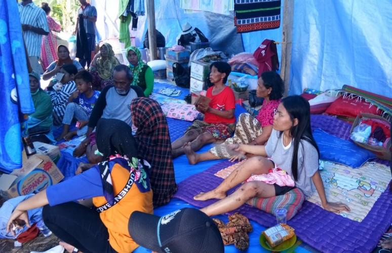 Hingga Hari Ini, 710 Rumah Alami Kerusakan Akibat Tsunami di Lamsel
