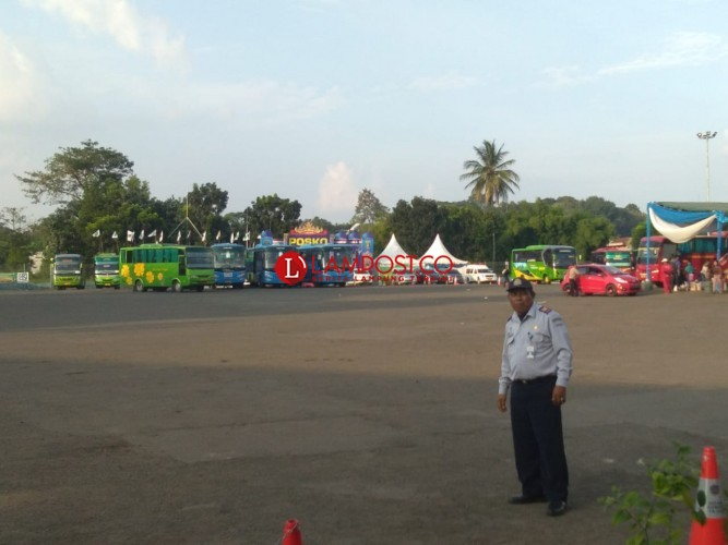 Hingga Sore, Sudah 161 Bus dari Rajabasa Berangkat ke Bakauheni