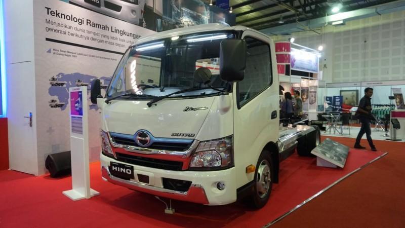 Hino Hybrid Tampil di IEMS 2019
