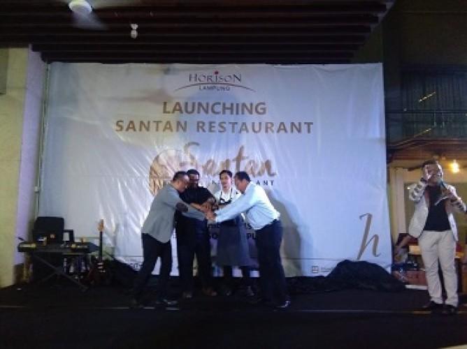 Hotel Horison  <i>Launching</i> Santan Restaurant