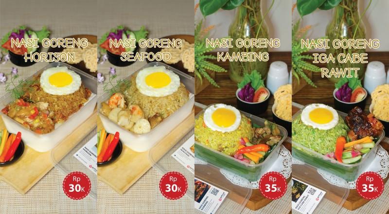 Hotel Horison Tawarkan <i>Take Away</i> 4 Varian Nasi Goreng