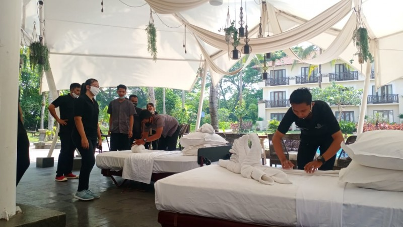Hotel Sheraton Lampung Meriahkan Housekeeping Week Appreciation