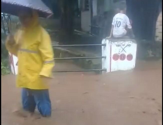 Hujan 4 Jam Banjiri Dua Dusun di Bakauheni