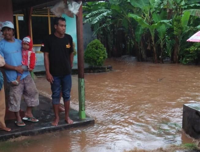Hujan Deras, 8 Dusun di Lampung Selatan Terendam Banjir
