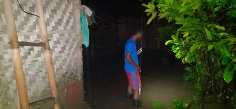 Hujan Deras, Pemukiman Warga Sidomulyo Kebanjiran