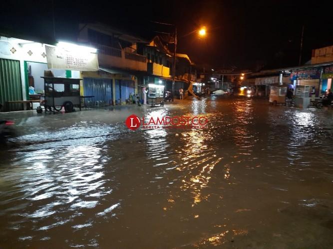Hujan Deras, Sejumlah Pekon di Pardasuka Terendam Banjir