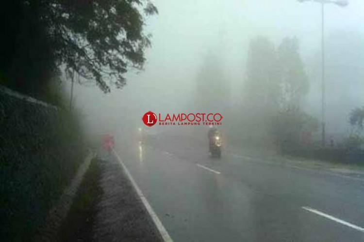 Hujan Lebat bakal Mengguyur Wilayah Lampung Tiga Hari ke Depan