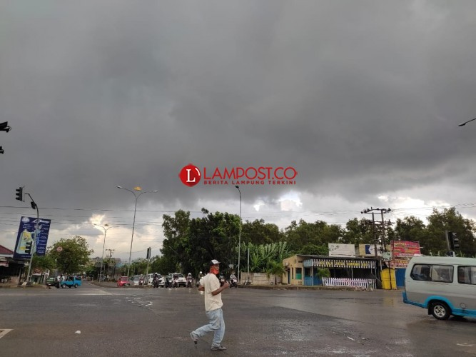 Hujan Lebat Berpotensi Terjadi di Wilayah Lampung