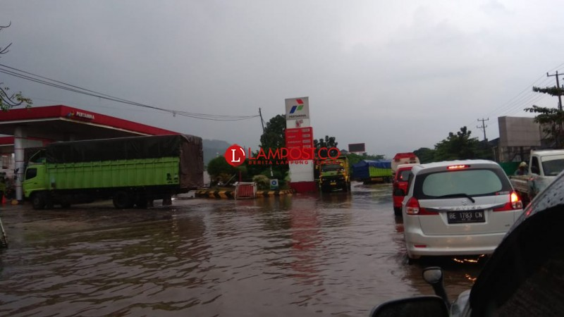 Hujan Lebat, Wilayah Panjang Terendam Banjir